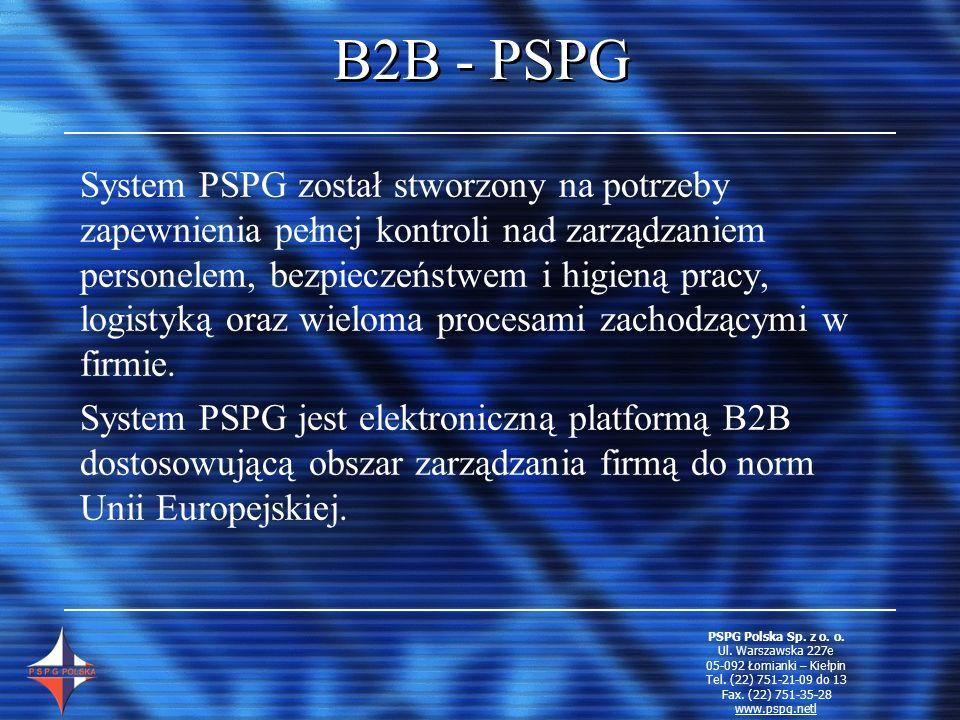 B2B - PSPG
