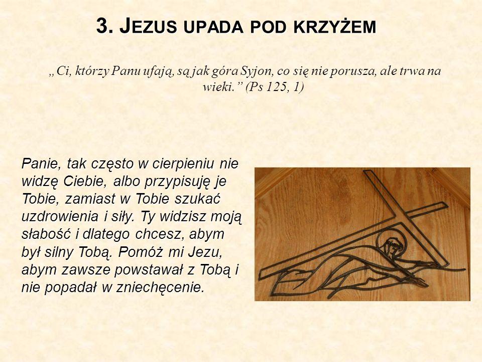 3. Jezus upada pod krzyżem