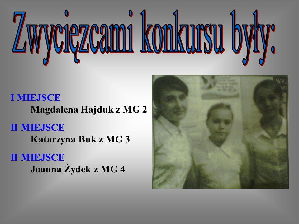 Zwycięzcami konkursu były: