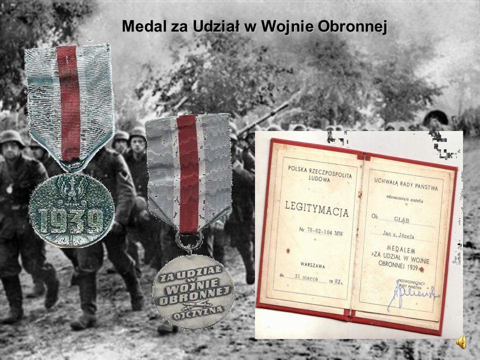 Medal za Udział w Wojnie Obronnej