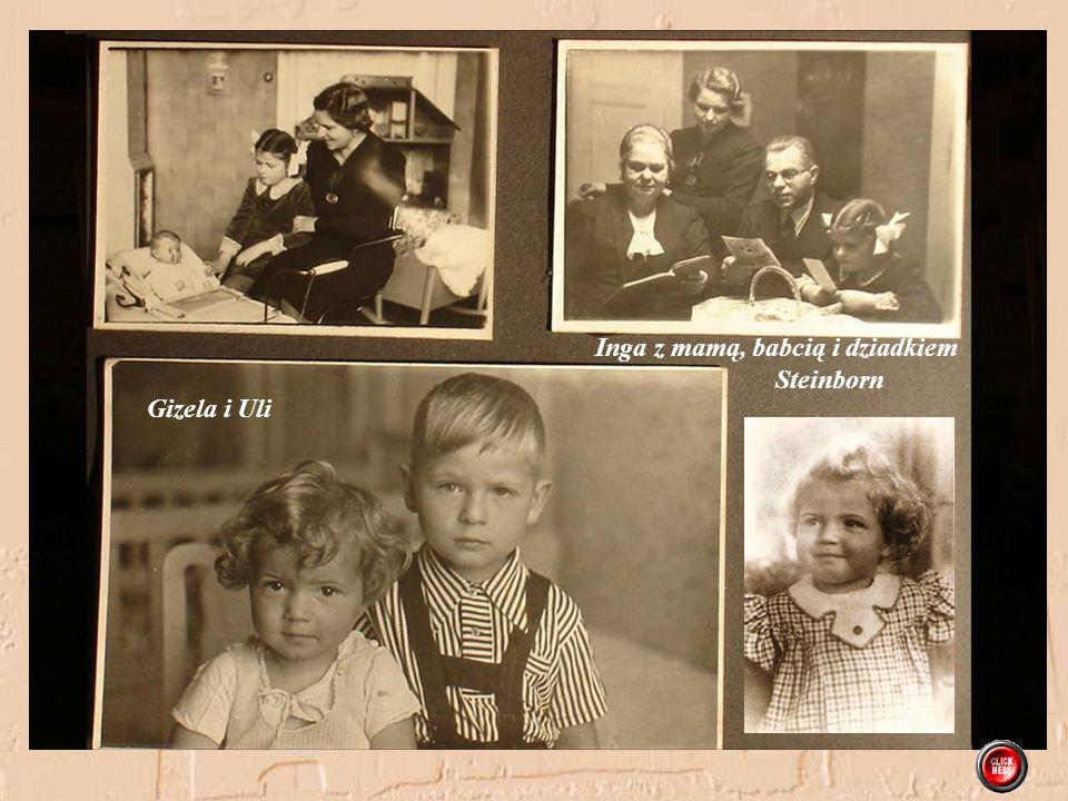 Inga z mamą, babcią i dziadkiem