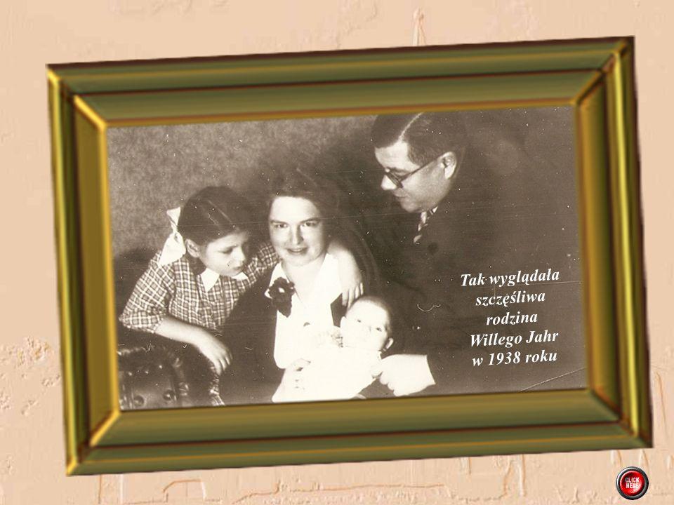 Tak wyglądała szczęśliwa rodzina Willego Jahr w 1938 roku