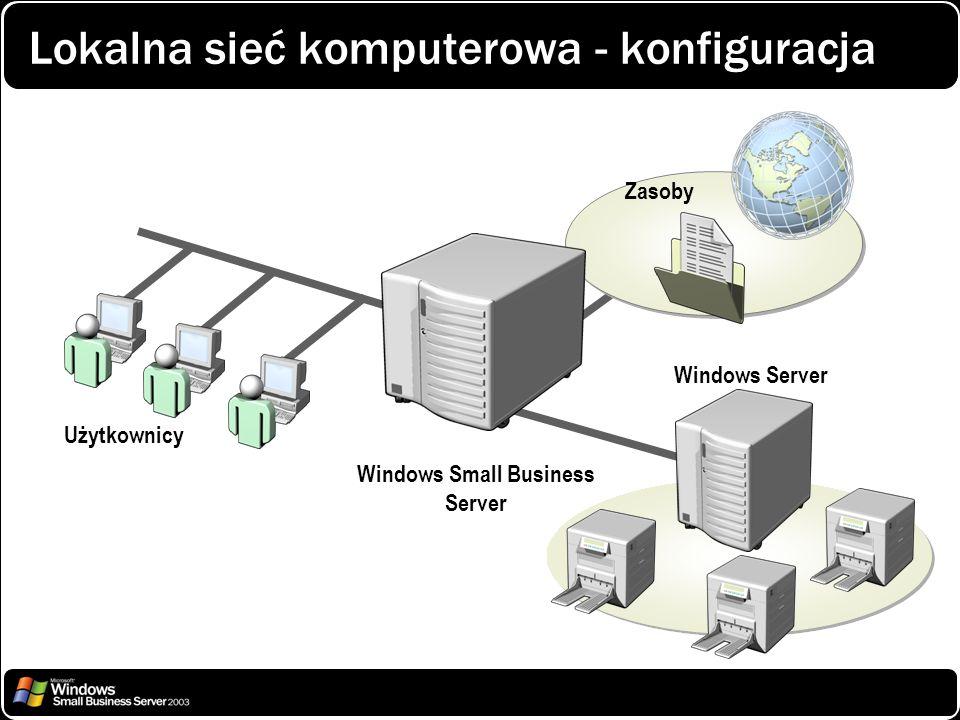 Lokalna sieć komputerowa - konfiguracja