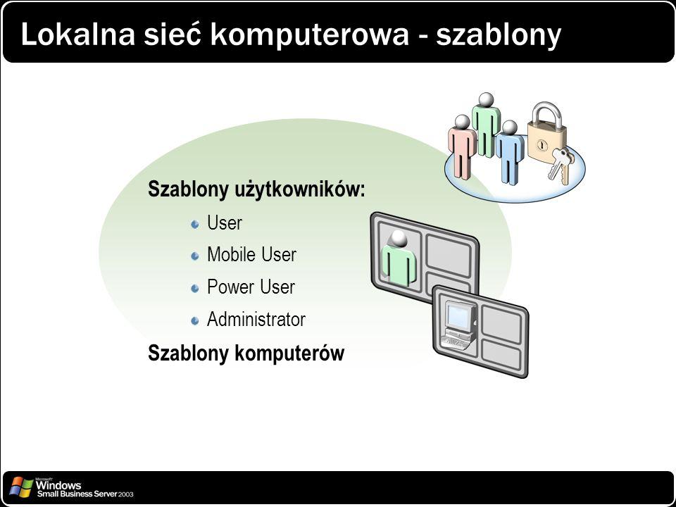 Lokalna sieć komputerowa - szablony