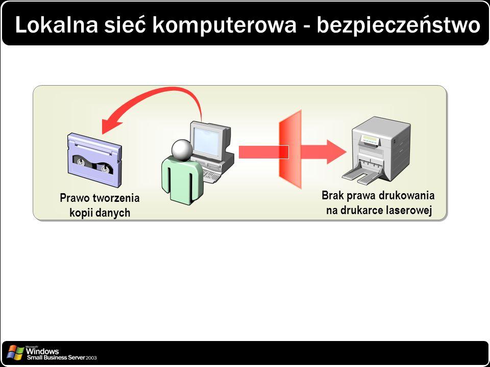 Lokalna sieć komputerowa - bezpieczeństwo