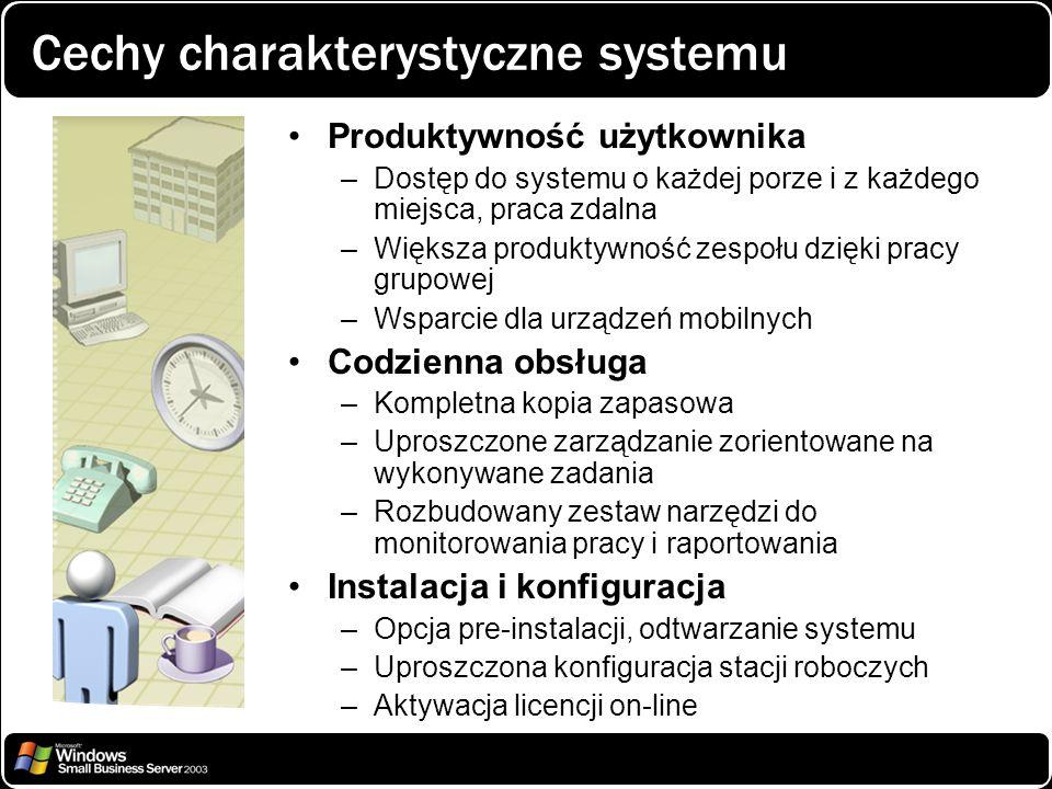 Cechy charakterystyczne systemu