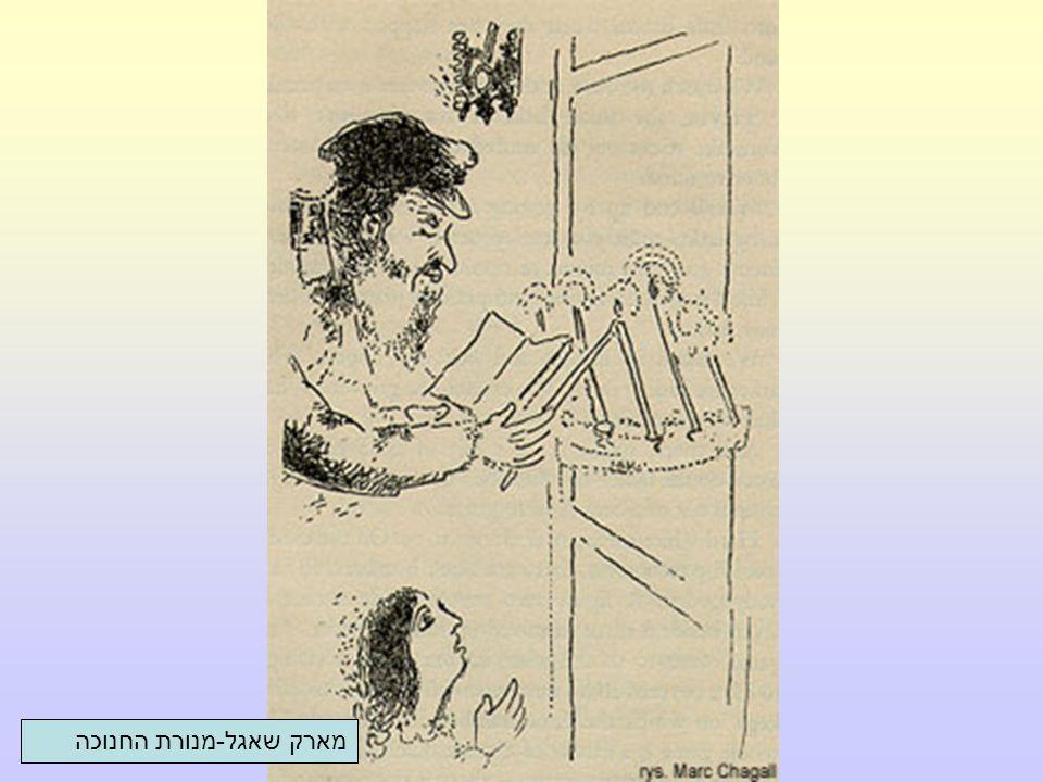 מארק שאגל-מנורת החנוכה