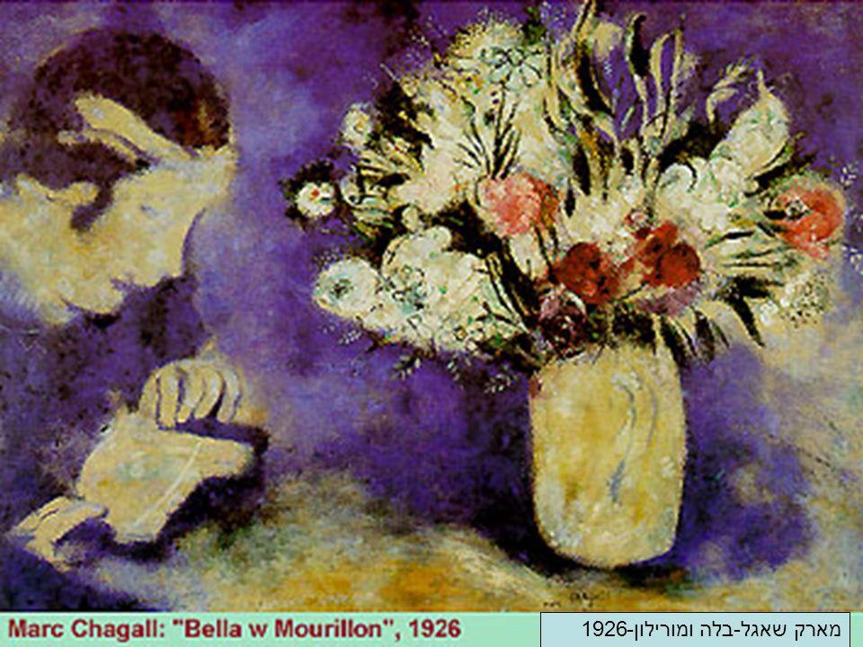 מארק שאגל-בלה ומורילון-1926