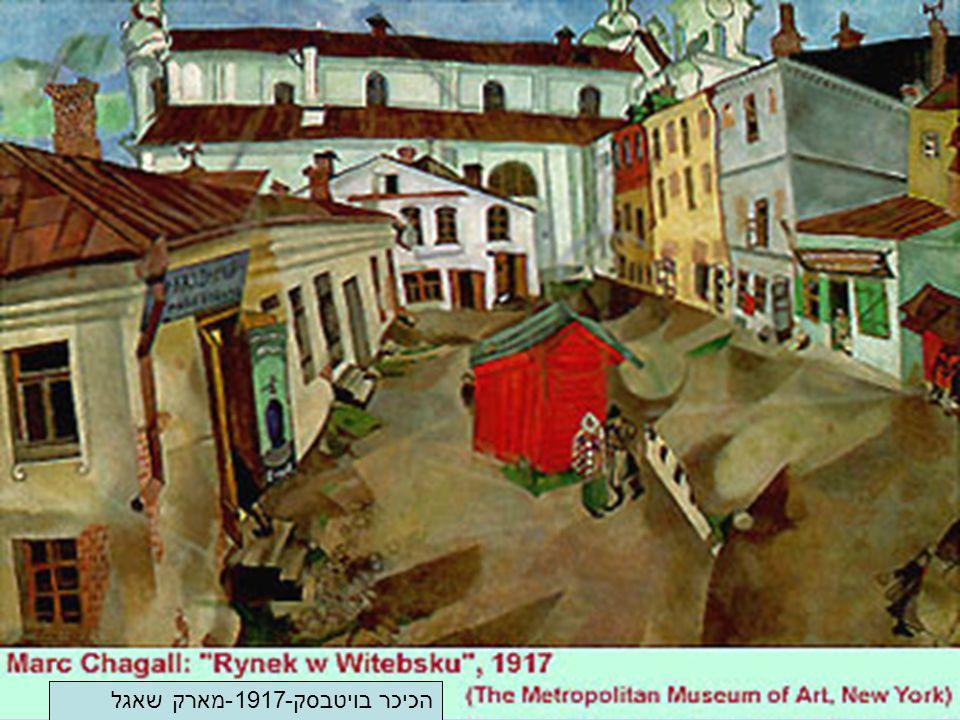 הכיכר בויטבסק-1917-מארק שאגל