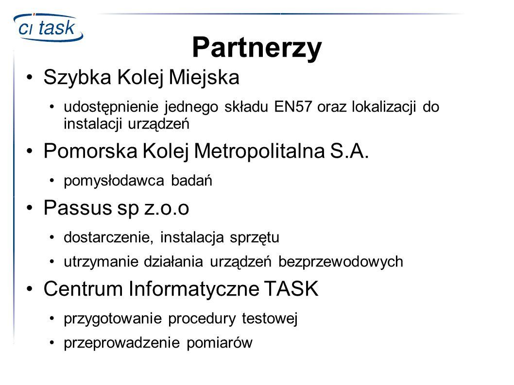 Partnerzy Szybka Kolej Miejska Pomorska Kolej Metropolitalna S.A.