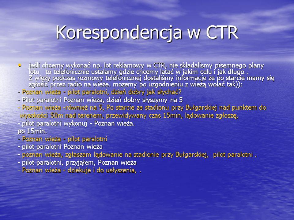 Korespondencja w CTR