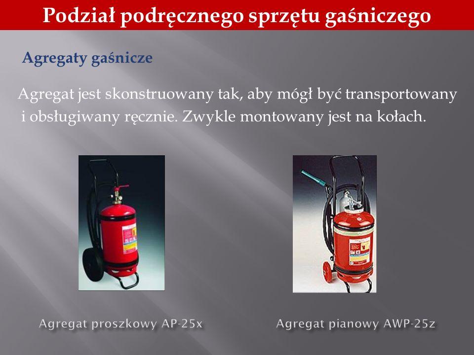 Agregat proszkowy AP-25x Agregat pianowy AWP-25z