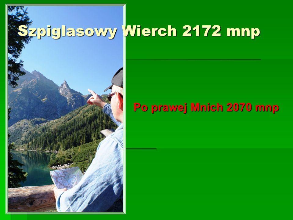 Szpiglasowy Wierch 2172 mnp