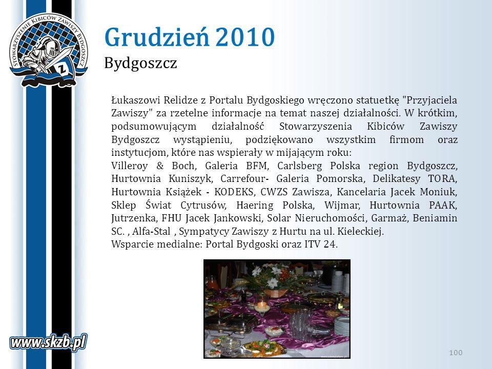 Grudzień 2010 Bydgoszcz