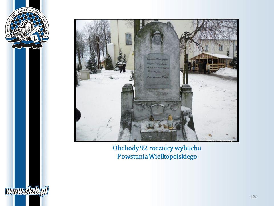 Obchody 92 rocznicy wybuchu Powstania Wielkopolskiego