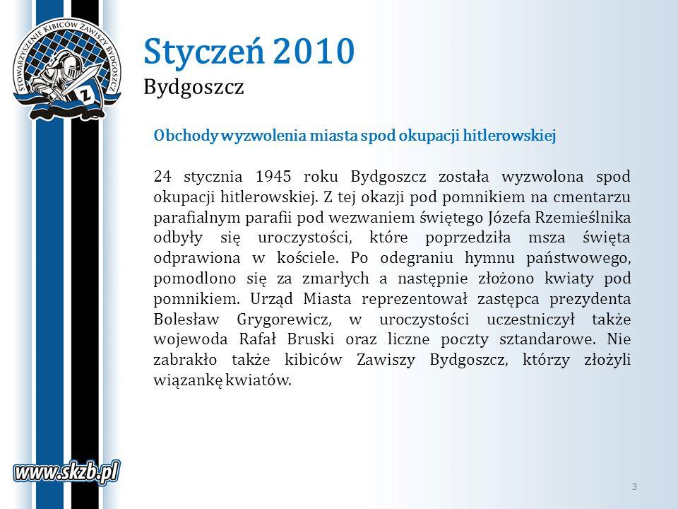 Styczeń 2010 Bydgoszcz Obchody wyzwolenia miasta spod okupacji hitlerowskiej.