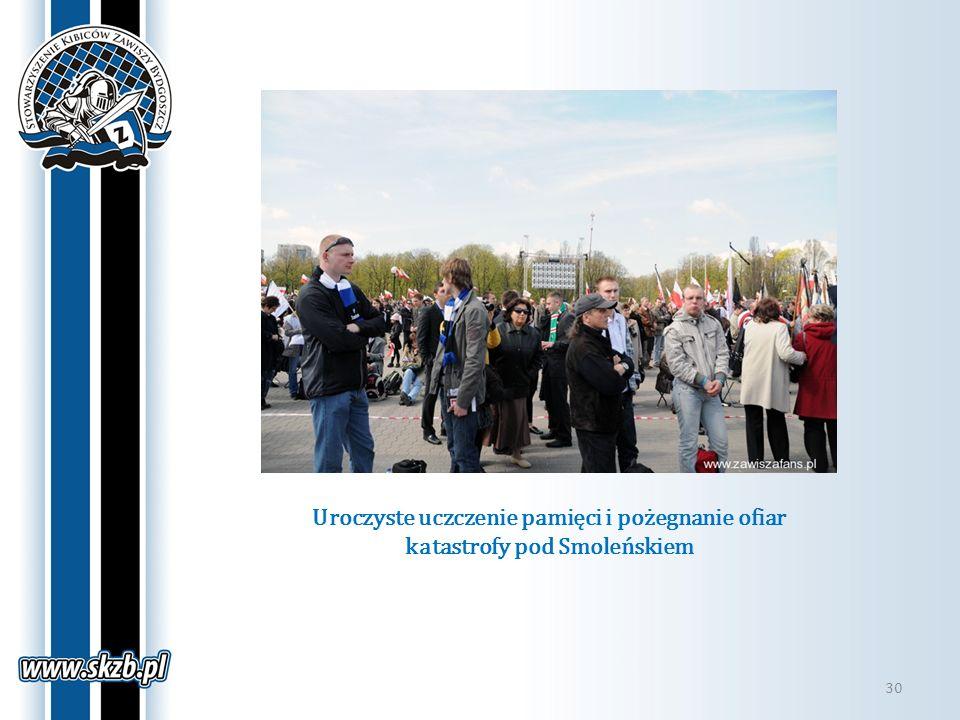 Uroczyste uczczenie pamięci i pożegnanie ofiar katastrofy pod Smoleńskiem