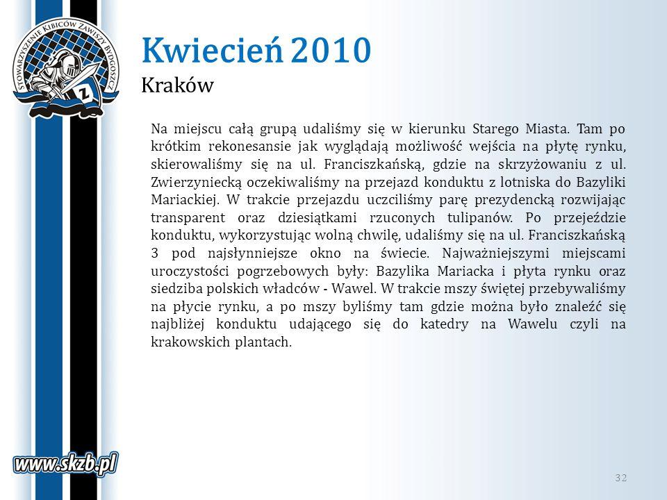 Kwiecień 2010 Kraków