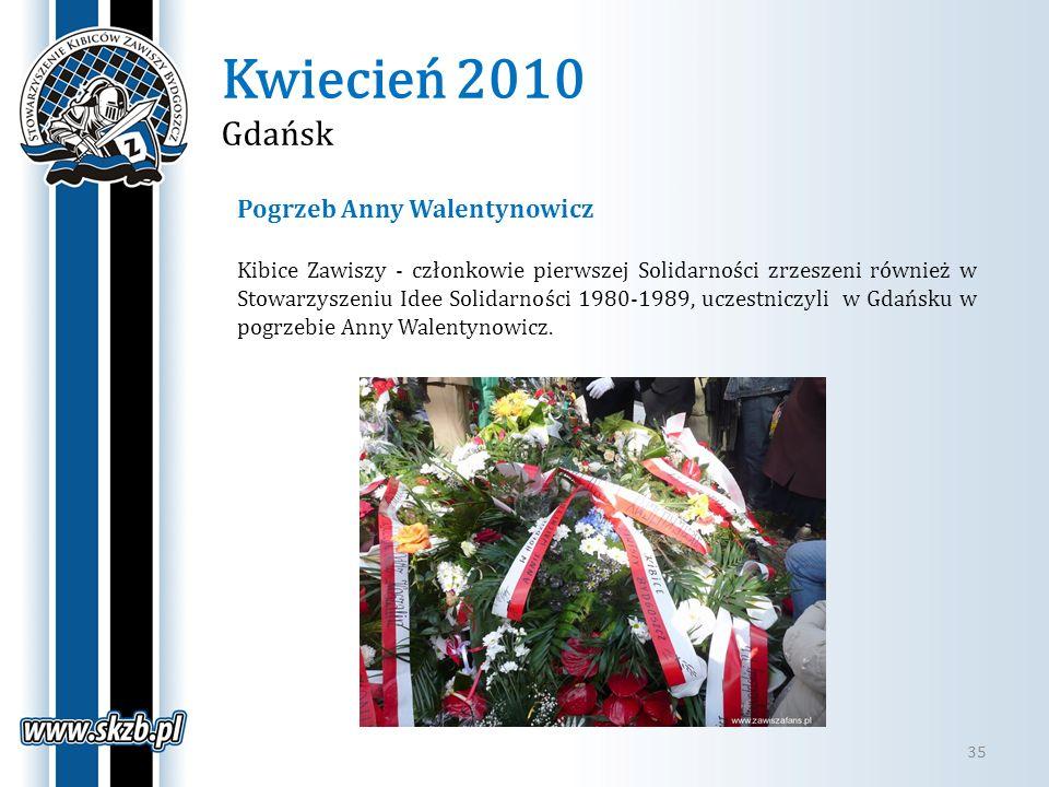 Kwiecień 2010 Gdańsk Pogrzeb Anny Walentynowicz