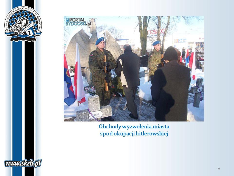 Obchody wyzwolenia miasta spod okupacji hitlerowskiej
