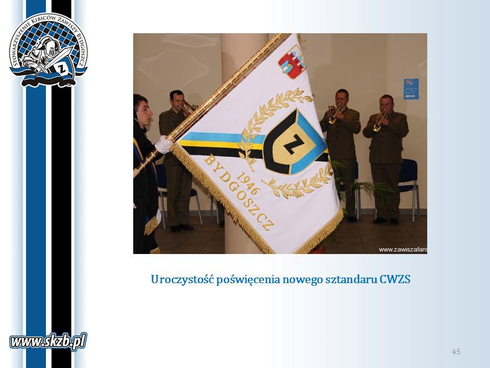 Uroczystość poświęcenia nowego sztandaru CWZS
