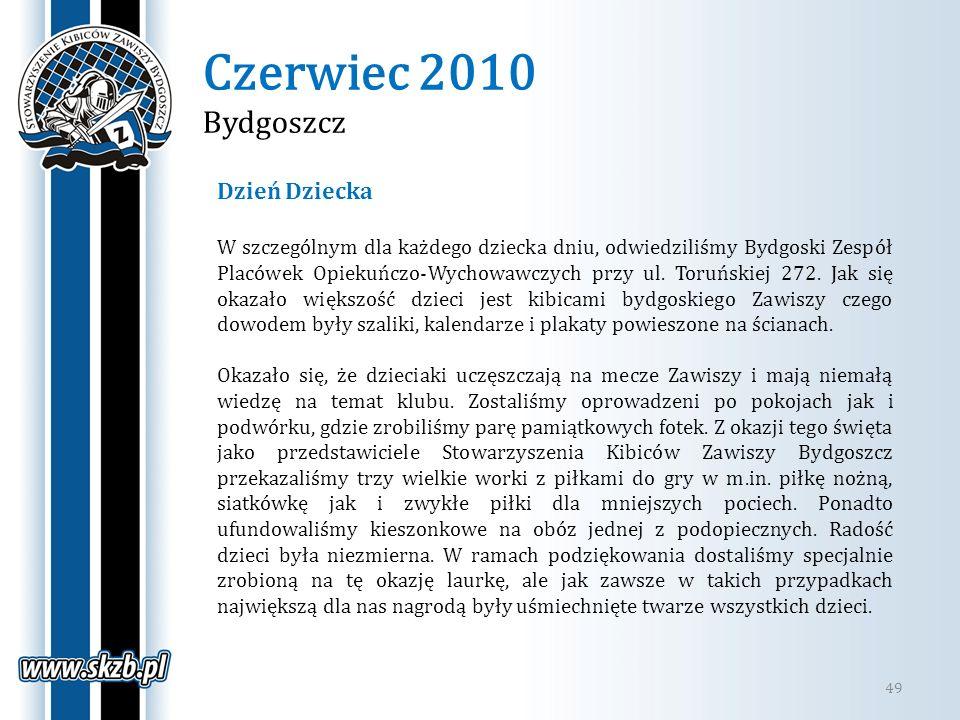 Czerwiec 2010 Bydgoszcz Dzień Dziecka