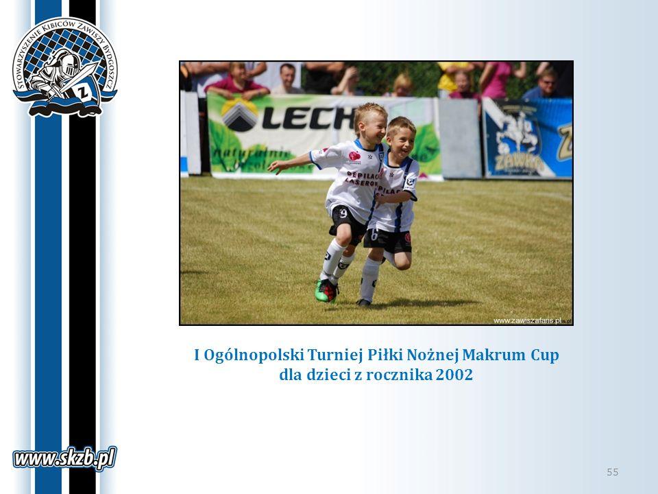 I Ogólnopolski Turniej Piłki Nożnej Makrum Cup dla dzieci z rocznika 2002