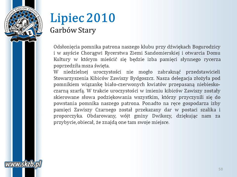 Lipiec 2010 Garbów Stary