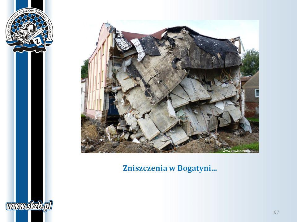 Zniszczenia w Bogatyni...
