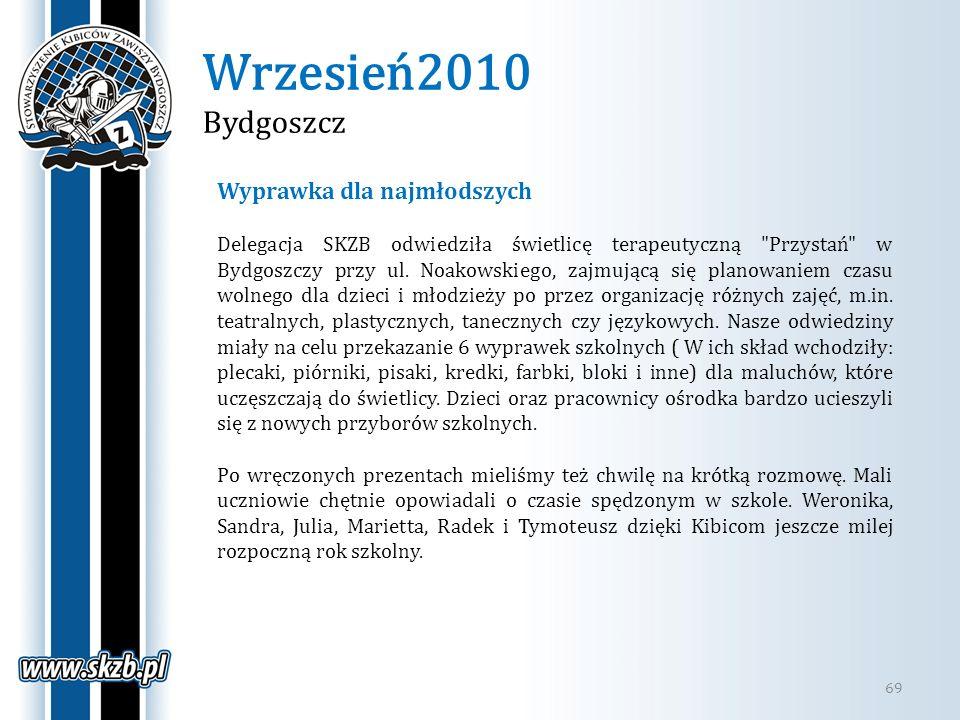 Wrzesień2010 Bydgoszcz Wyprawka dla najmłodszych