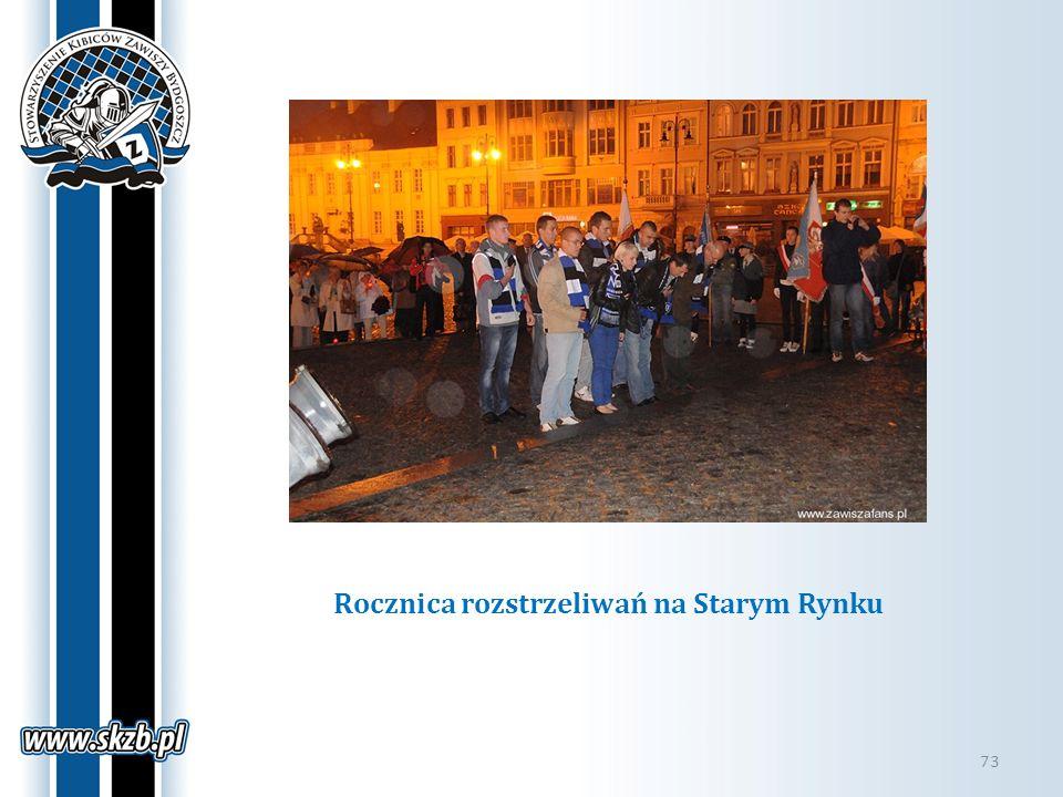 Rocznica rozstrzeliwań na Starym Rynku