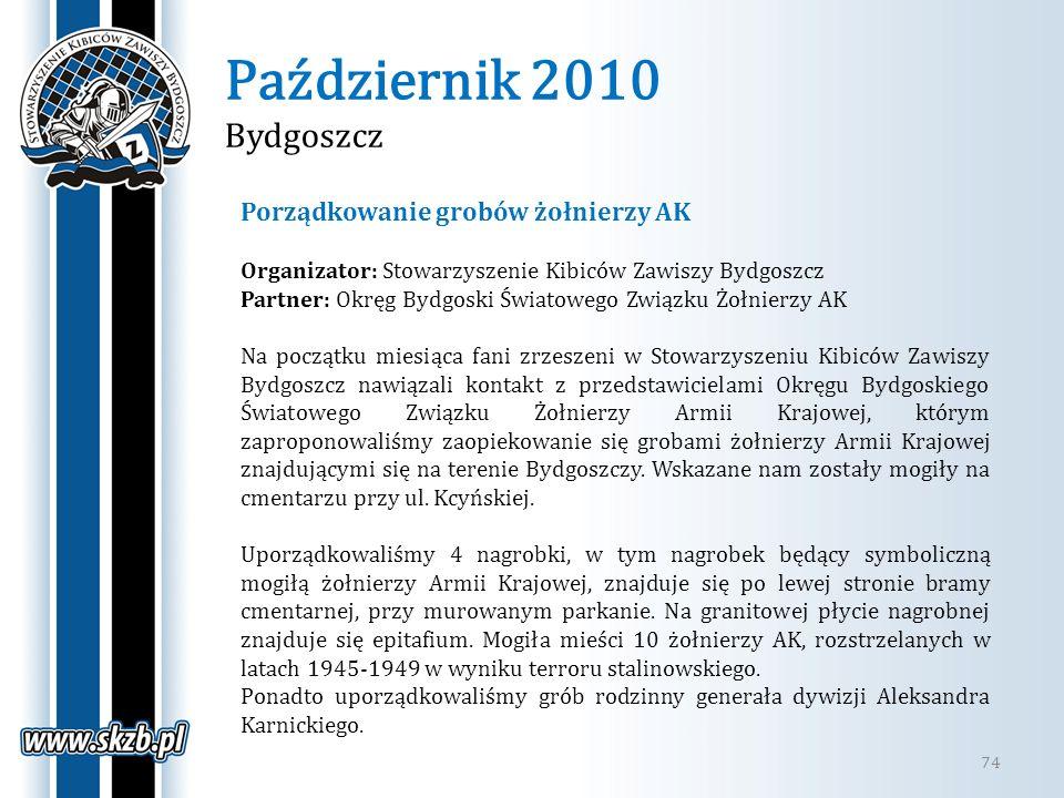Październik 2010 Bydgoszcz