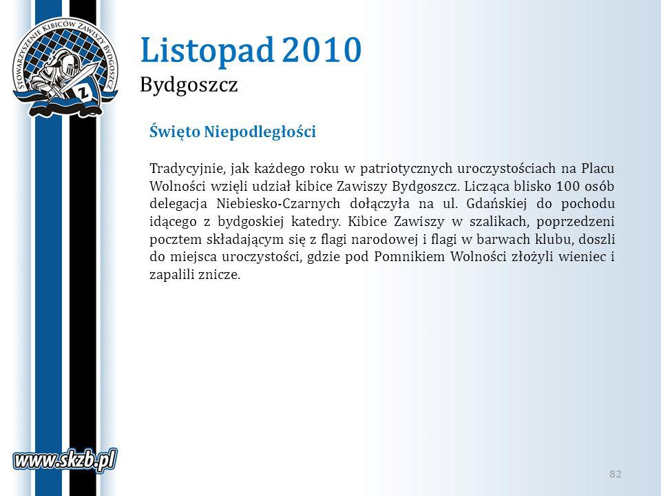 Listopad 2010 Bydgoszcz Święto Niepodległości