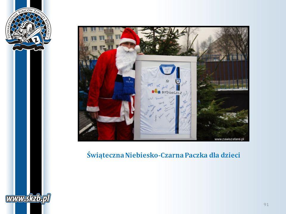 Świąteczna Niebiesko-Czarna Paczka dla dzieci
