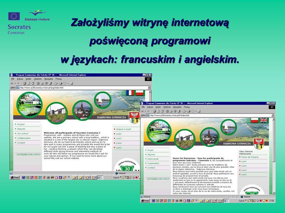 Założyliśmy witrynę internetową poświęconą programowi