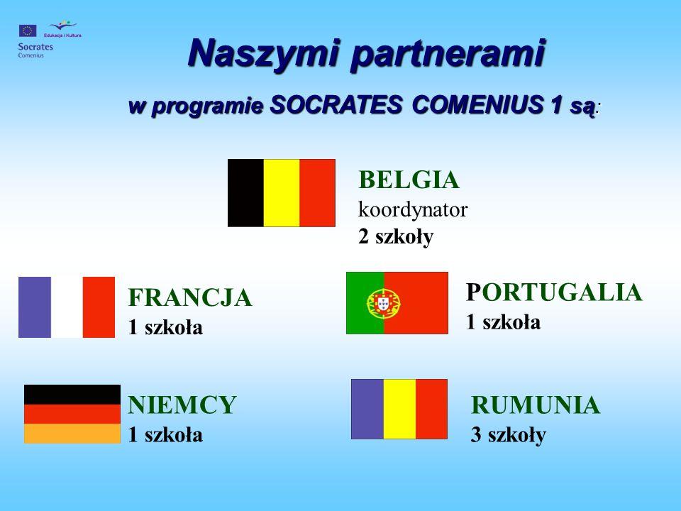 w programie SOCRATES COMENIUS 1 są: