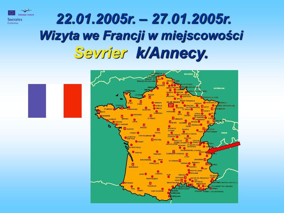 Wizyta we Francji w miejscowości Sevrier k/Annecy.