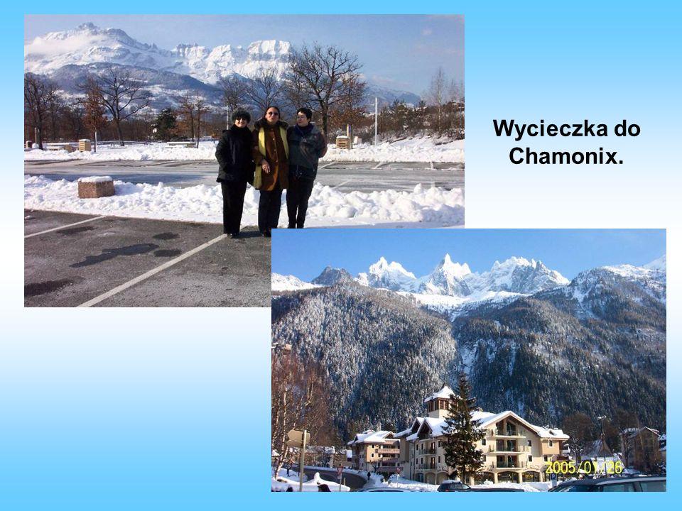 Wycieczka do Chamonix.