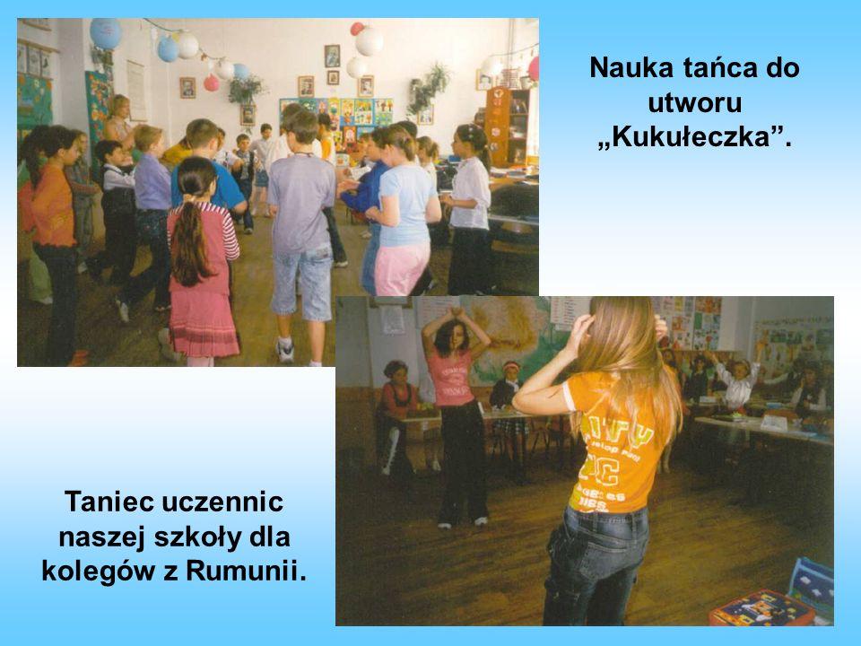 """Nauka tańca do utworu """"Kukułeczka ."""