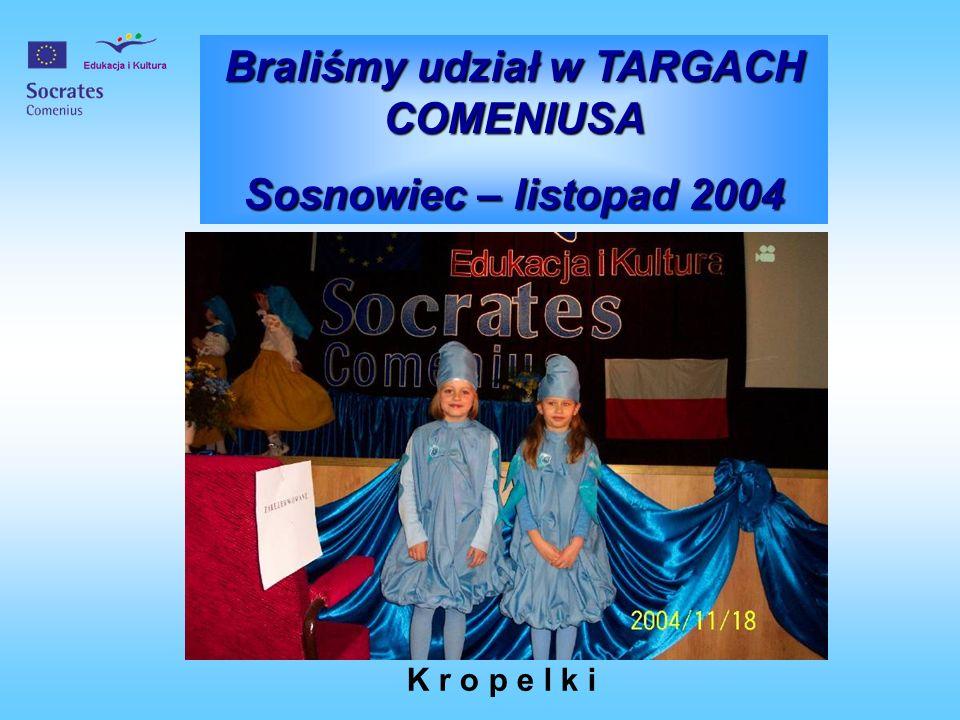 Braliśmy udział w TARGACH COMENIUSA