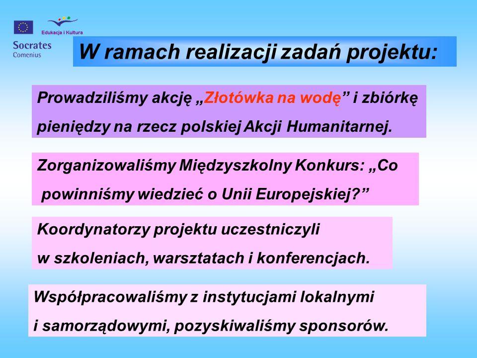 W ramach realizacji zadań projektu: