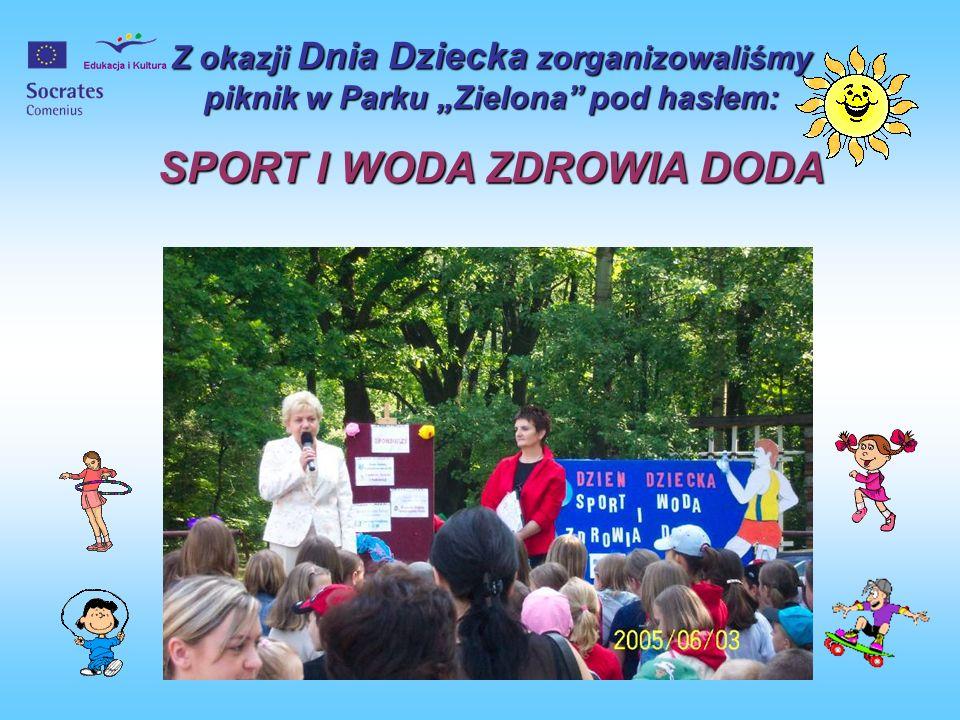 SPORT I WODA ZDROWIA DODA