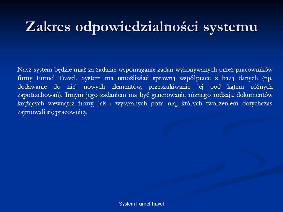 Zakres odpowiedzialności systemu