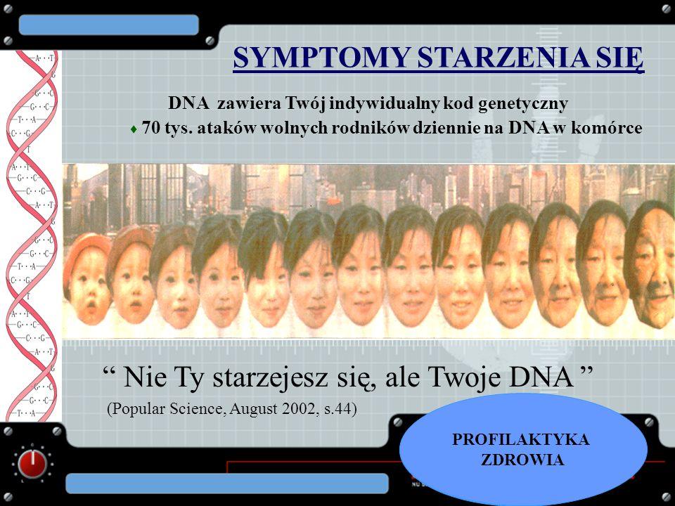 SYMPTOMY STARZENIA SIĘ
