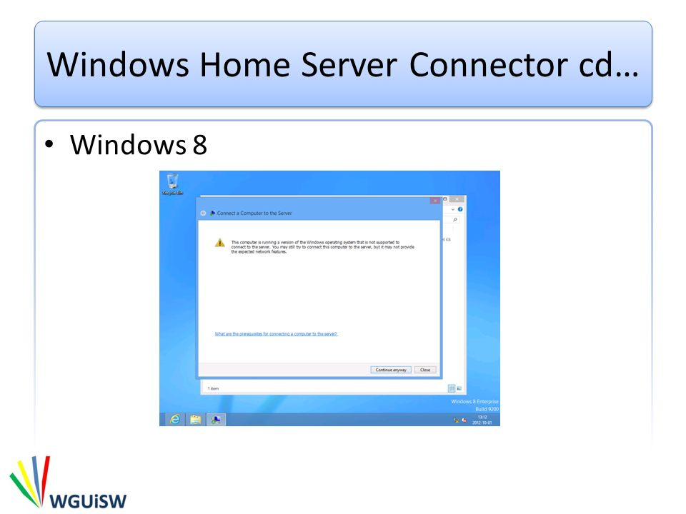 Windows Home Server Connector cd…
