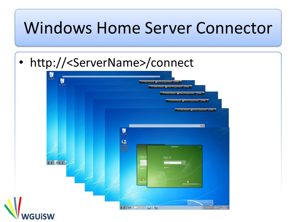 Windows Home Server Connector