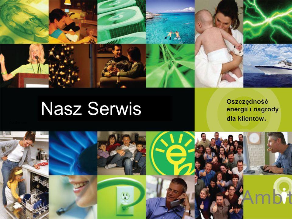 Nasz Serwis Oszczędność energii i nagrody dla klientów. Our Service