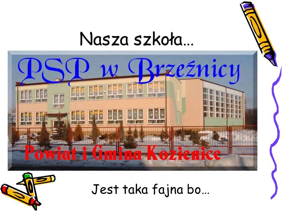 Nasza szkoła… Jest taka fajna bo…