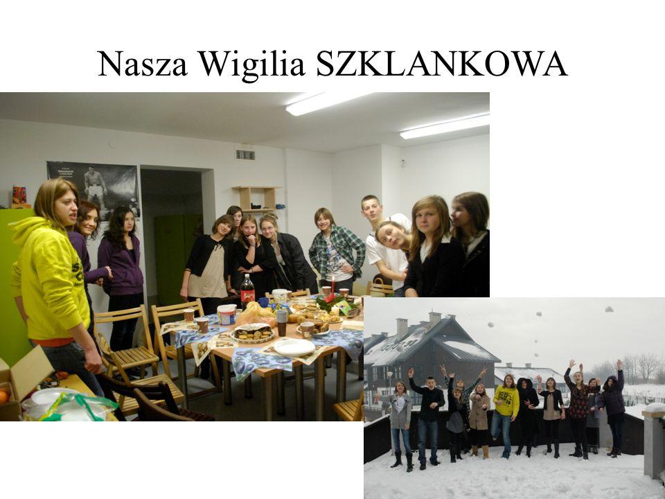 Nasza Wigilia SZKLANKOWA