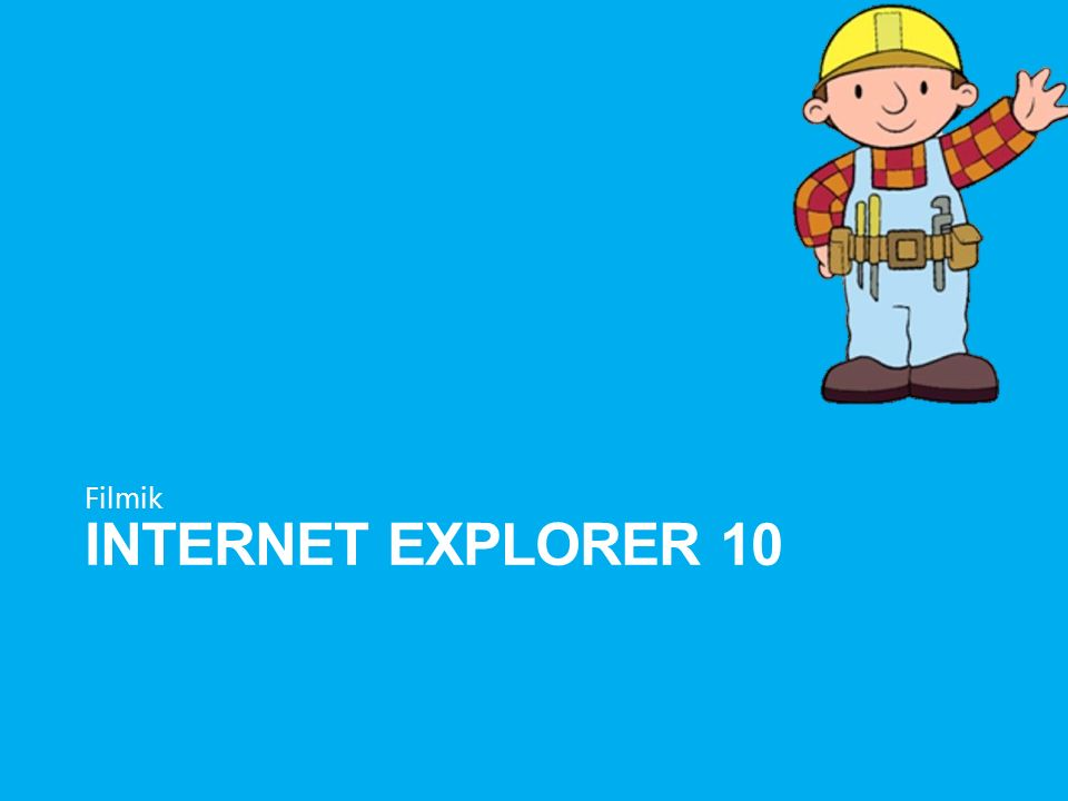 Filmik Internet explorer 10